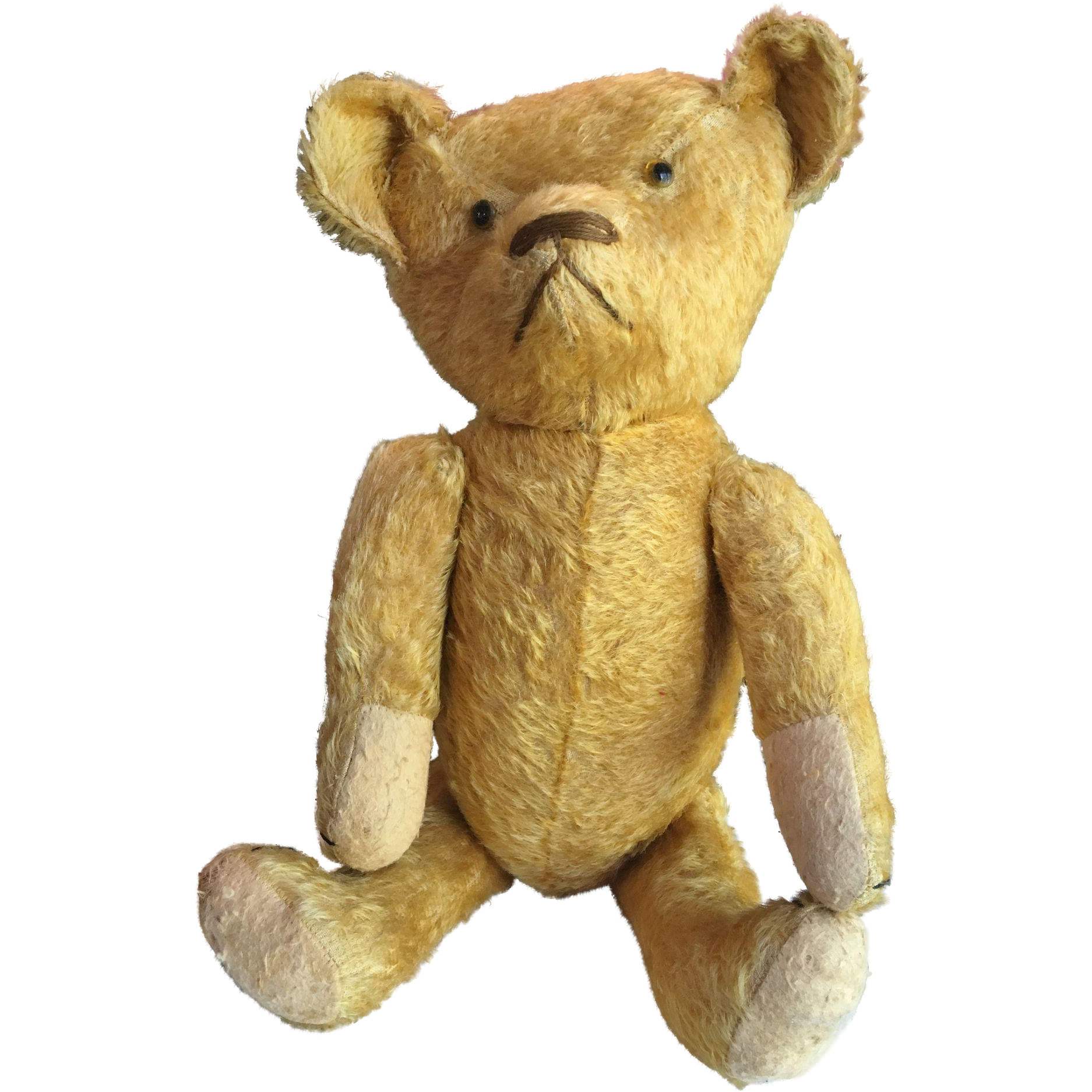 "Huge 24"" Jointed Mohair Hump Back Teddy Bear"