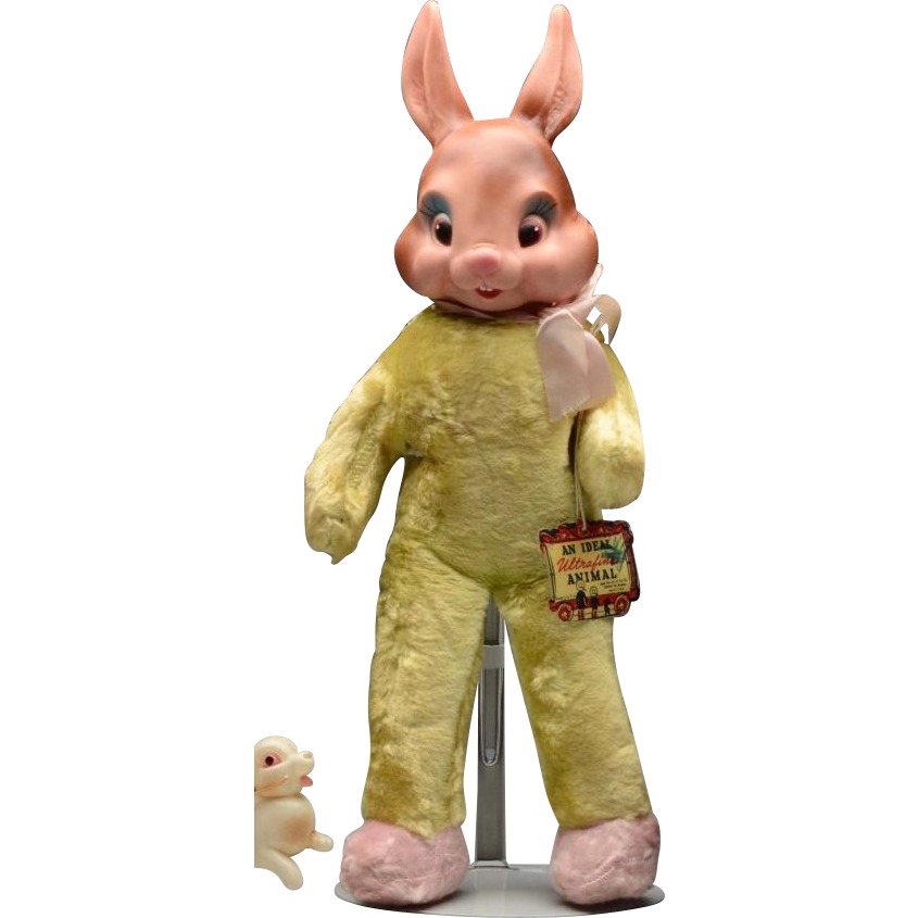 1940 Ideal Bunny Rabbit Stuffed Toy