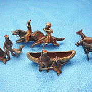 Indian Village Metal Toys