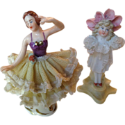 Dresden Lacy Ballerine and Companion