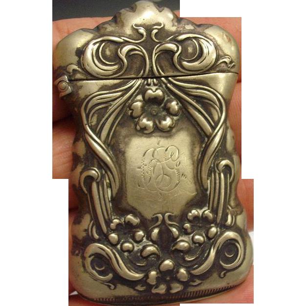 Antique Match Safe or Vesta Case