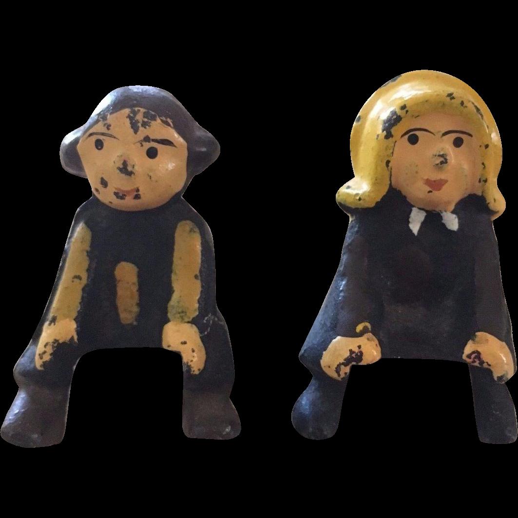 Max & Moritz Heavy Metal Toy Figurines