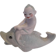 German Merboy Bathing Beauty Figurine