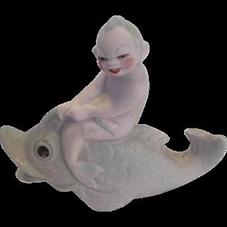 German Merboy Bathing Beauty Figurine