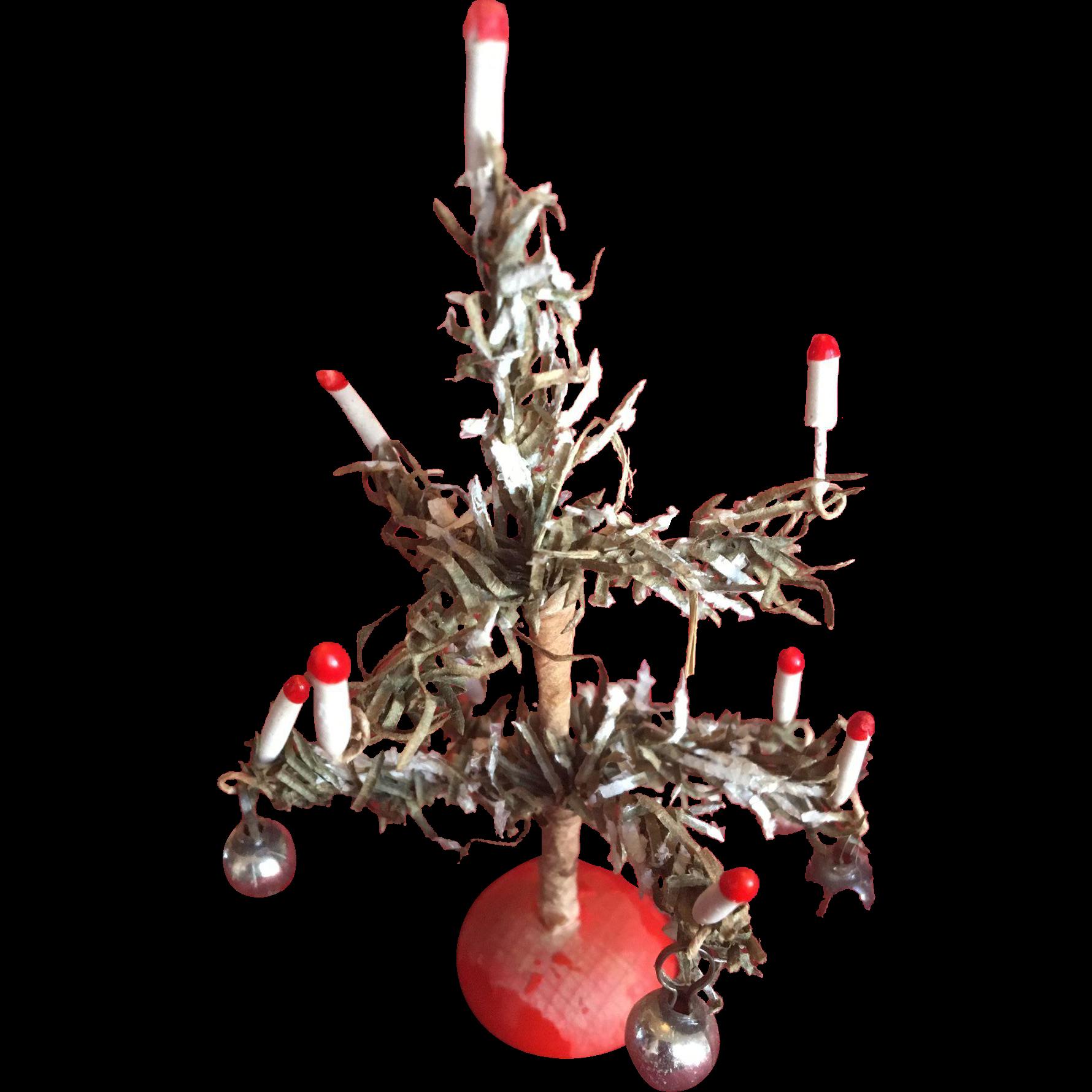 Miniature Dollhouse Christmas Tree
