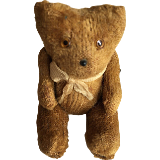 Miniature Doll Size Teddy Bear