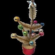 Dollhouse Size Miniature Christmas Tree