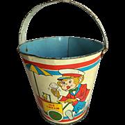 Monkeys Tin Sand Toy Bucket