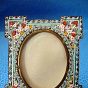 Italian Micro Mosaic Miniature Picture Frame