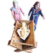 Mary Joseph and Baby Jesus Nativity Figures