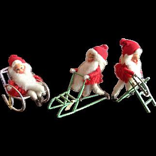 Vintage Norwegian Nisse Christmas Elves