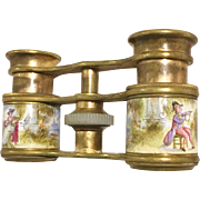 Vienna Enamel Opera Glasses Binoculars