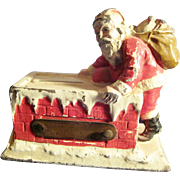 1925 Cast Metal Santa Claus Still Bank