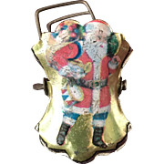 Santa Claus Metal Christmas Tree Candle Clip - Very Rare!
