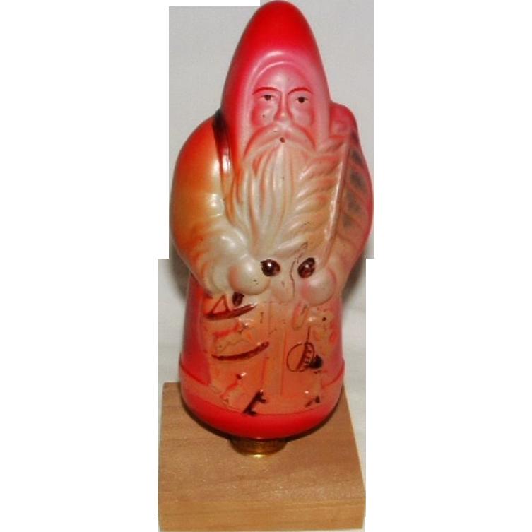 Vintage santa claus large light bulb display sold on ruby lane