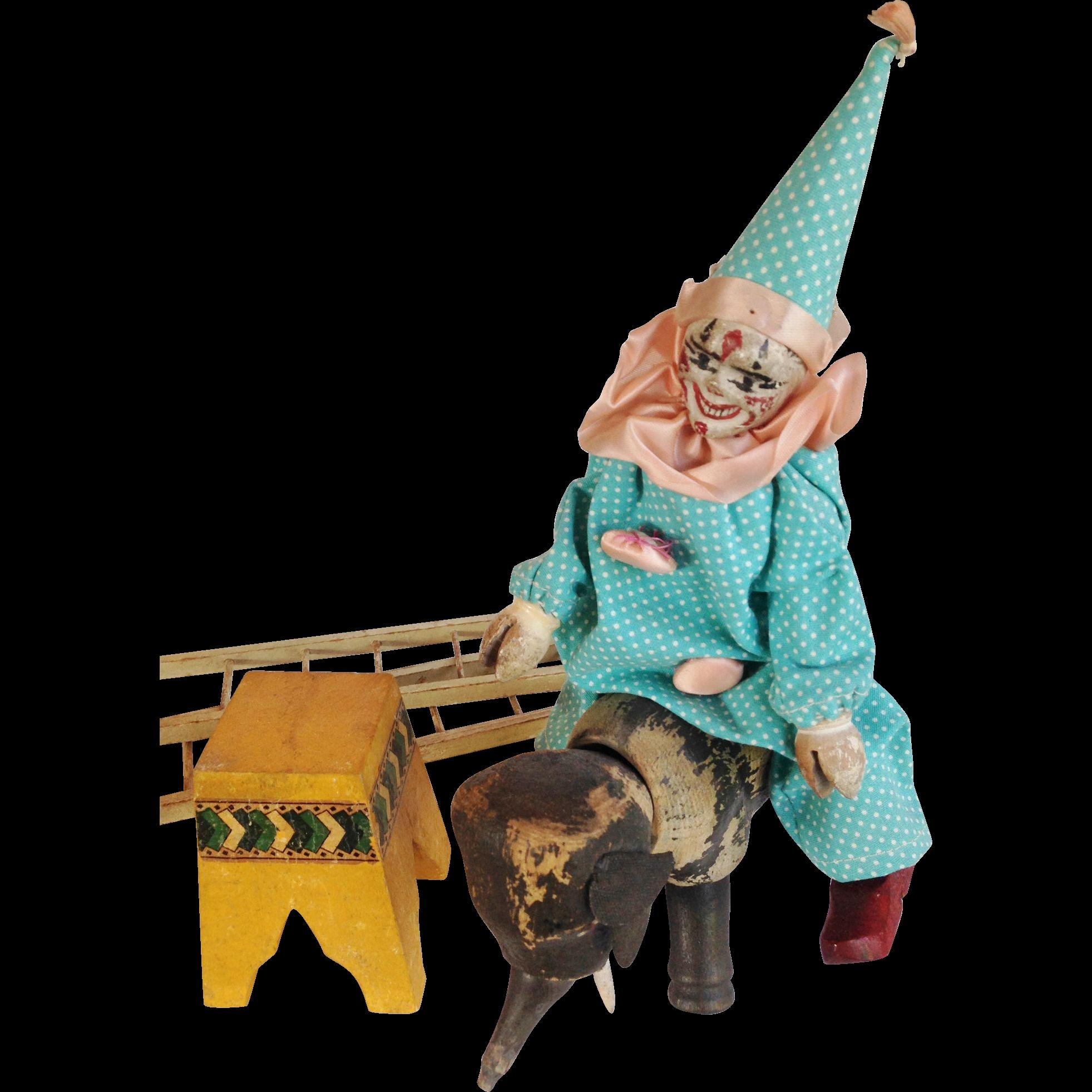 Schoenhut Circus Figures