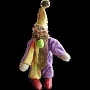 Schoenhut Wooden Circus Clown Doll