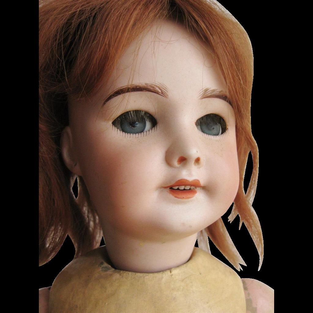 Lovely S.F.B.J. 301 Moving Walker French Bebe Doll