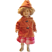 """Vintage 18"""" Shirley Temple Doll in an original outfit"""