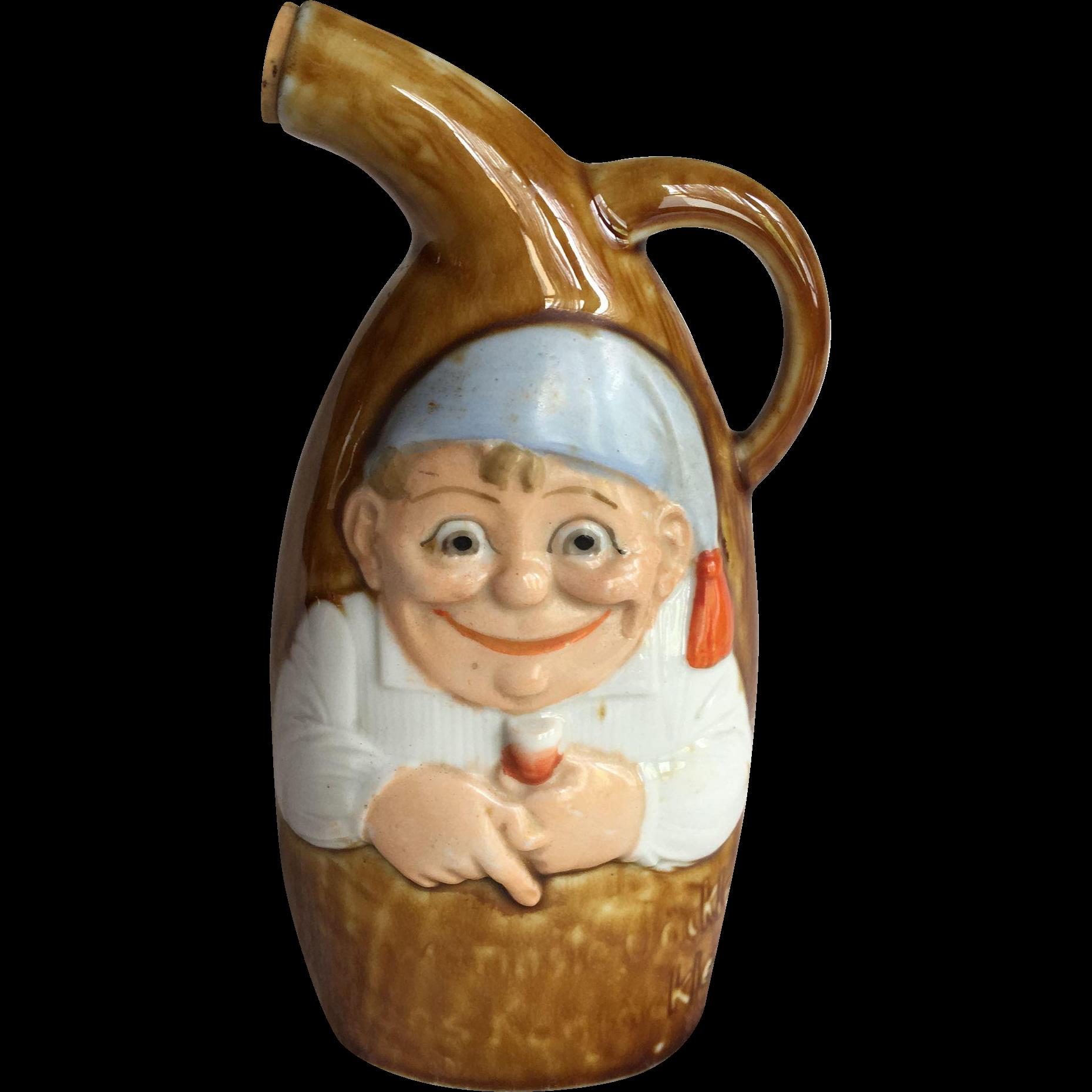 Schafer & Vater Christmas Elf Whiskey Flask
