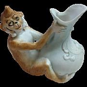 Schafer & Vater Miniature Monkey Vase