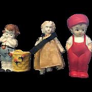 Three little Doll Figures