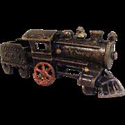 Cast Iron Toy Railroad Train Engine