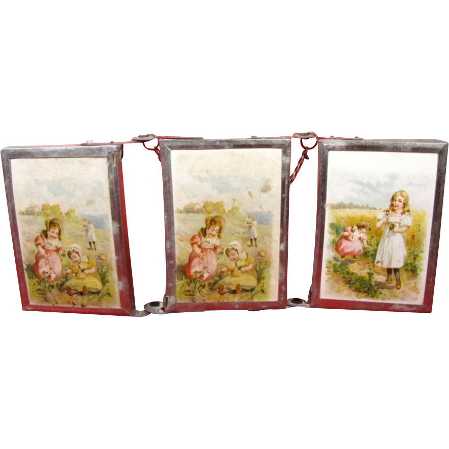 Trifold Child or Doll Size Mirror