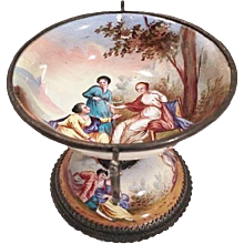 Vienna Enamel Miniature Compote