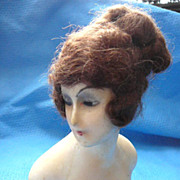 Boudoir Half Doll Wax on Composition