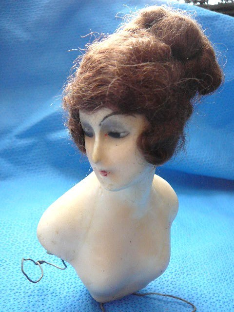 Boudoir Half Doll Wax on Composition