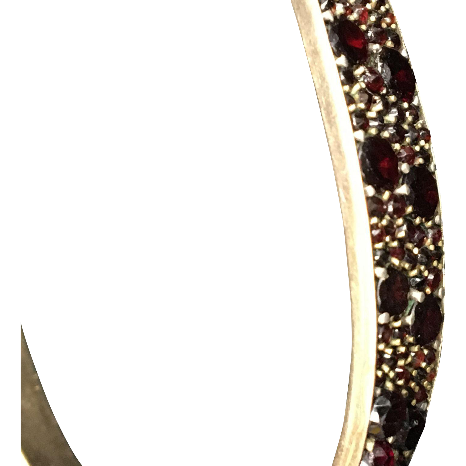 Garnet Victorian Bracelet