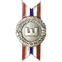 Sterling Silver Army-Navy Production Award