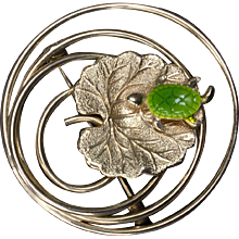 Turtle On A Lily Pad Pin