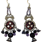 Beautiful Ayala Bar Chandelier Earrings