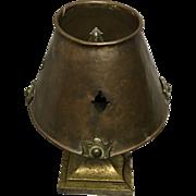 Hand Made Brass Arts & Craft Lamp