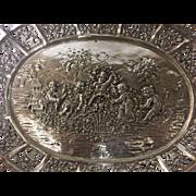 German 800 Silver Serving Bowl