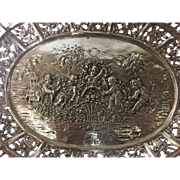 German 800 Silver Serving Bowl
