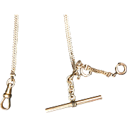 Pocket Watch Chain Gold Filled