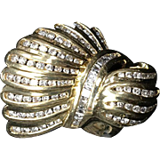 Gold and 6.5 K Diamond Ring