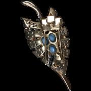 Trifari Earrings and Brooch Set