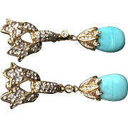 Costume Clip Earrings
