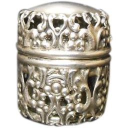 Sterling Thimble Holder