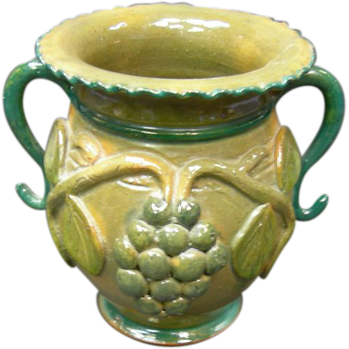 American Pottery Vase By Stahl From Antiquegal On Ruby Lane