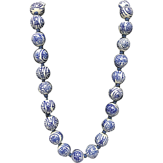 Chinese Bead Necklace