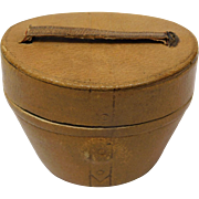Haberdasher's Hatbox Traveling Inkwell