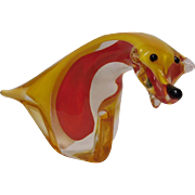 Murano Glass Dog