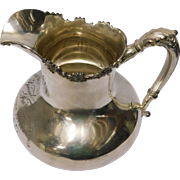 Antique Yacht Club Trophy Pitcher / Ewer