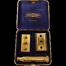 Gillette Vintage Tuckaway Safety Razor