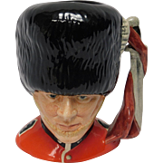 "English Royal Doulton Toby Jug, ""The Guardsman"""